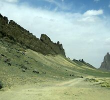 Shiprock, New Mexico by Laurie Puglia