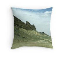 Shiprock, New Mexico Throw Pillow