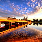 Mirror - Narrabeen Lakes - The HDR Series by Philip Johnson