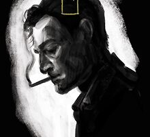 Rust Cohle - The Yellow King by allolune