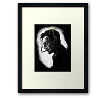 Rust Cohle - The Yellow King Framed Print
