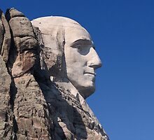 George Washington, Mount Rushmore National Memorial by Alex Preiss