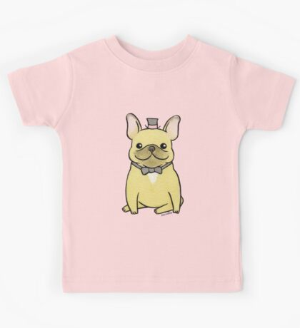 French Bulldog - The Little Gentleman Kids Tee