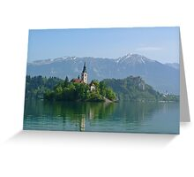 Bled Greeting Card