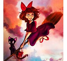 Kiki's Sunset Delivery Photographic Print