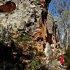 Walking the Sandstone Caves Track by myraj