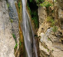 Corsica waterfall by Patrick Morand