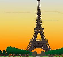 Eiffel Tower by pda1986