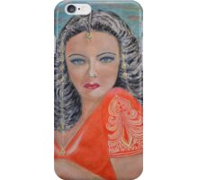 Tribute to Gene Tierney iPhone Case/Skin