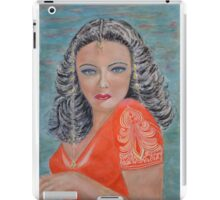 Tribute to Gene Tierney iPad Case/Skin