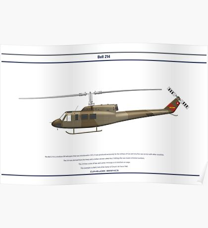 Bell 214 Oman 1 Poster