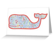 Lilly Pulitzer Whale Get Nauti Greeting Card