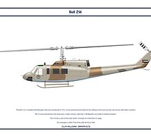 Bell 214 UAE 1 by Claveworks