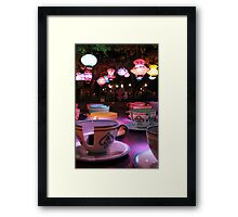 Late Night Tea Party Framed Print