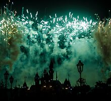Disney Fireworks by Out0fFocus