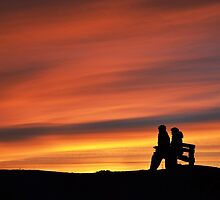 Aberystwyth Sunset by Out0fFocus