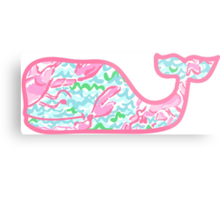 Lilly Pulitzer Whale Lobstah Roll Metal Print