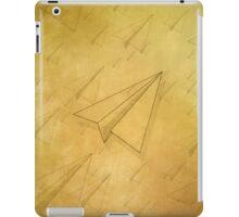 Paper Airplane 98 iPad Case/Skin