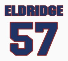 National football player Eldridge Milton jersey 57 by imsport