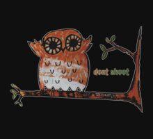 Don't Shoot Owl Kids Tee