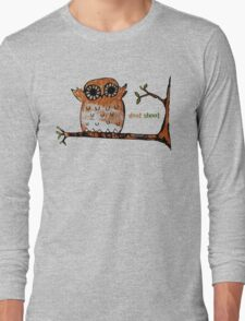Don't Shoot Owl Long Sleeve T-Shirt