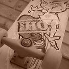 Skateboard by byh16