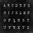 Alphabet in Black by Elizabeth Thomas