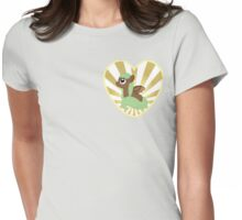 Pegasus Heart (Ladies) Womens Fitted T-Shirt