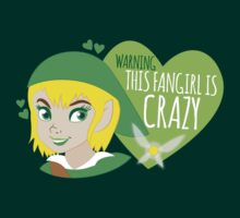 WARNING this fangirl is CRAZY! (with girly Link and fairy) by jazzydevil