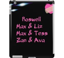 roswell tv show Max & his man Loves iPad Case/Skin