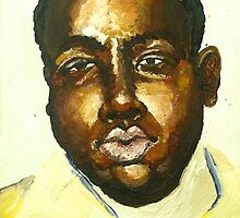 Young Biggie Smalls by emilyroseart