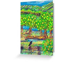 Little old lemon Orchard Greeting Card