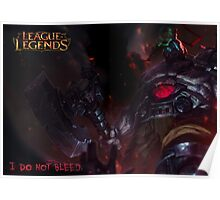 Sion - I do not bleed Poster