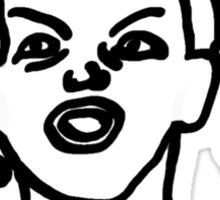 Ermahgerd! Funny ermahgerd girl! Oh My God! Er Mah Gerd! Sticker