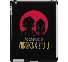 The Adventures of Varrick & Zhu Li iPad Case/Skin