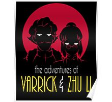 The Adventures of Varrick & Zhu Li Poster
