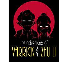 The Adventures of Varrick & Zhu Li Photographic Print
