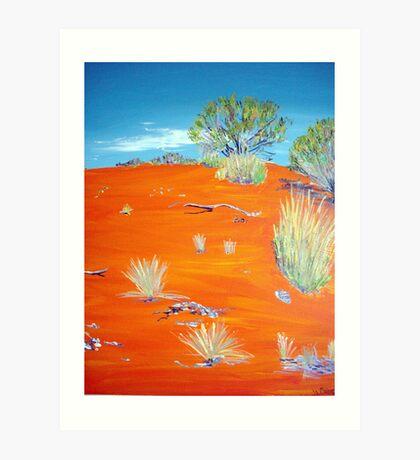 Outback Australia Art Print