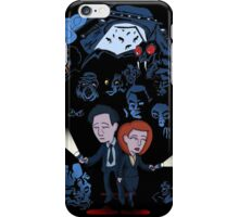 X-Files Mulder and Scully iPhone Case/Skin