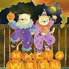 Halloween Kittys by Ujean1974