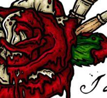 Painting Flowers  Sticker