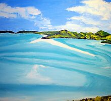 Whitsunday Islands Queensland Australia by gillsart