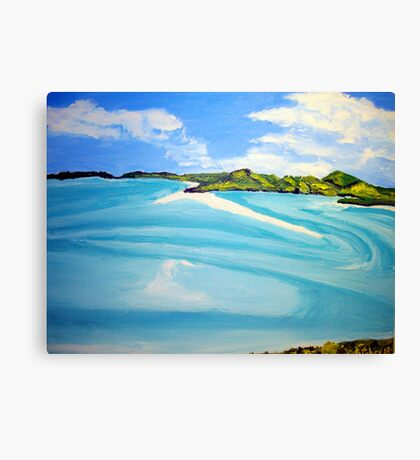 Whitsunday Islands Queensland Australia Canvas Print