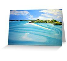 Whitsunday Islands Queensland Australia Greeting Card