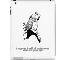 Dead Bird - It's very confusing.  iPad Case/Skin