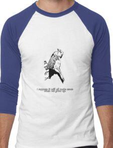 Dead Bird - It's very confusing.  Men's Baseball ¾ T-Shirt