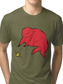 'Pritteh burdie' Tri-blend T-Shirt