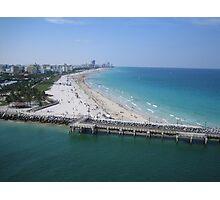 Florida Coastline in the Shipping Lane Photographic Print