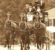 The Fox Hunt Carriage by ChereeCheree