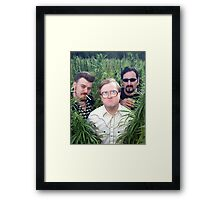 Ricky, Bubbles, and Julian Framed Print